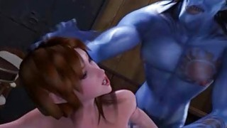 3D Busty Girl_Destroyed_by Monsters! Preview Image