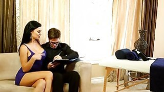 Sexy_masseuse_Jasmine_Jae_gives_massage_and_fucked_by_client Preview Image