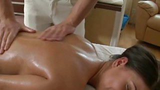 Oil massage makes beauty give_moist oral job Preview Image