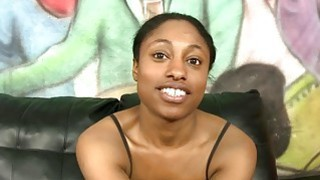 Black girl Sharee extreme interracial Preview Image