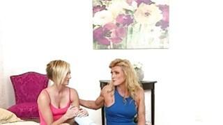Cute teen Kate England and hot mom Amanda Verhhoks lesbosex Preview Image