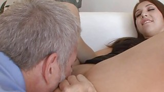 Ariana seduced her step dad and got her pussy licked Preview Image