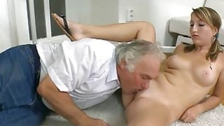 Darling is receiving lessons from aged teacher Preview Image