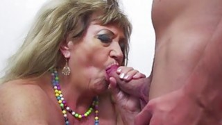 Hot stud undressing and banging a grandma Preview Image