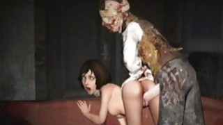 3D Scared Girls Destroyed by_Monsters! Preview Image