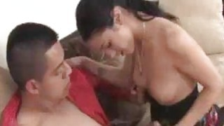 Teen Babe Jerks And Gets A Huge Cumshot On Her Fac Preview Image
