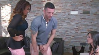 Hot maid Gia Paige and Tory Lane in a hardcore threesome session Preview Image