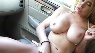 Aerobic instructor screwed in the car Preview Image