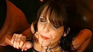 Pissing all over babes face sets her on fire Preview Image