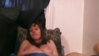 Lonely brunette with nice tits having fun with her favorite vibrator Preview Image