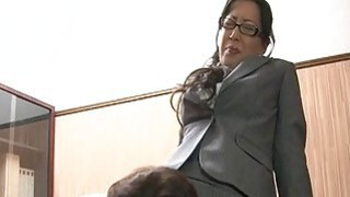 Corporate big ass Asian bitch getting doggy style Preview Image
