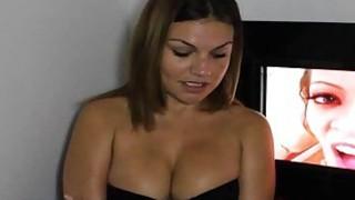 Big Tit_Brunette Blows GloryHole Boners! Preview Image