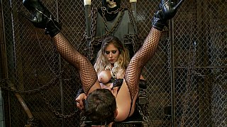 Divine babe bdsm hardcore fetish with bad guy: bad guy creampie Preview Image