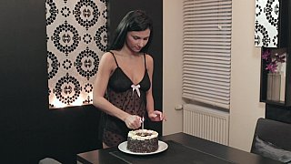Surprise morning cake and sex for nick's birthday Preview Image