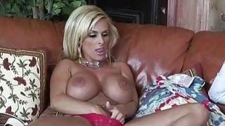 Horny Blonde Mom Holly Halston Fucks A Young Stud Preview Image