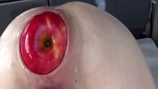 Brutal anal fisting and XL apple insertions Preview Image