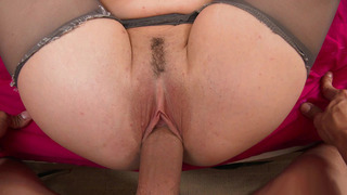 Molly Jane gets her pink, trimmed pussy filled with wide cock Preview Image