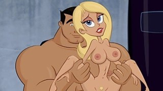 Slutty Blonde Cartoon Babe Gets A Creampie From A Massive_Cock Preview Image