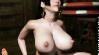 Horny 3D anime cutie gets pussy jizzed Preview Image