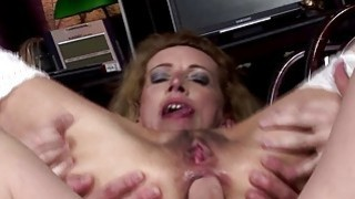 Hairy_brunette_mature_gets_anal_creampied Preview Image