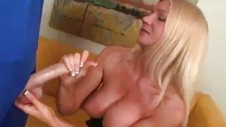 Blonde Milfs Been Greated By A Big Dick Preview Image