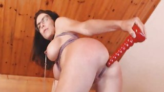 Horny Slut Fucks_her Wet Pussy with Dildo Preview Image