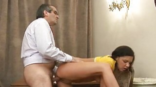 Elderly teacher is humping babes taut anal tunnel Preview Image