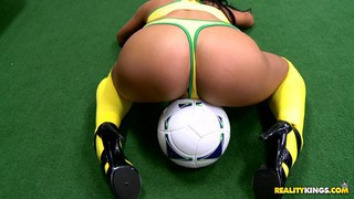 Soccer MILF fucked in sports shop Preview Image