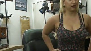 Busty big ass babe gets her pussy pounded by pawn guy Preview Image