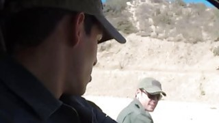 Redhead Babe Fucked By Border Patrol Agent Preview Image