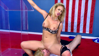 Cherie DeVille sits on his face and gets her pussy_eaten Preview Image