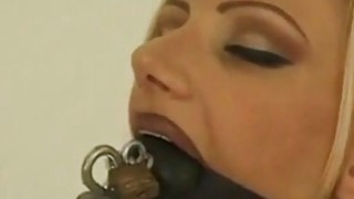 My tied slave Emma gets tough blow job training Preview Image