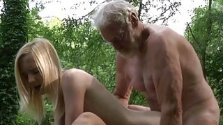 Woodcutter big old cock fucks young girls Preview Image