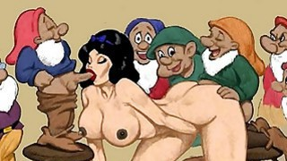 Snowwhite and dwarfs hentai orgy Preview Image