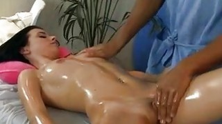 Titted brunette doing erotic massage xxx Preview Image