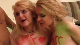 Crazy college orgy with champagne xxx Preview Image