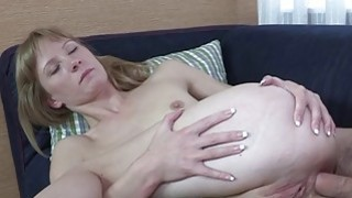 Hot blonde xxx cutie gets crammed in the tail Preview Image