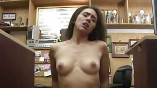 A sexy brunette fucked in the office Preview Image