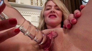 Busty American mature toying herself Preview Image