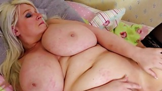 Blonde BBW underdressing and masturbating Preview Image