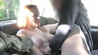 Amateur passenger jizzed on her big tits Preview Image