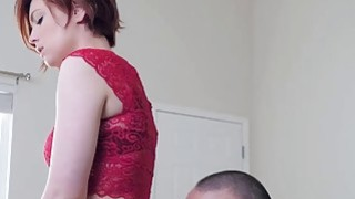 Gorgeous redhead babe Faye_Lynne getting pounded hardcore Preview Image
