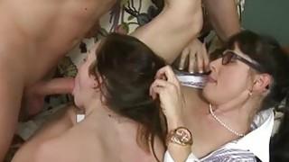 Victoria Volt and Alexandra Silk FFM 3some sex Preview Image