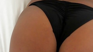 Pierced nipples GF in knee high socks ass banged on camera Preview Image