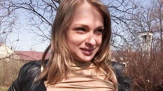 Blondie Czech babe gets banged_for money Preview Image