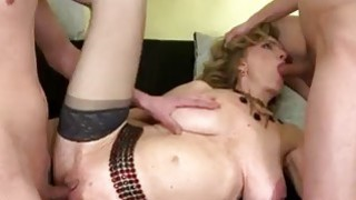 Kinky matures gangbanged in bdsm swinger orgy Preview Image