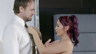 Bored wife Monique Alexander fucks_her massage client Preview Image