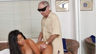 Busty nurse Jenna Foxx enjoys a hot fuck with old men Preview Image