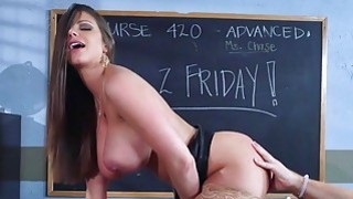 Brazzers Sexy milf Brooklyn Chase teaches her student Preview Image