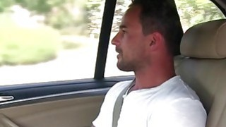 Fat female fake taxi driver fucks customer Preview Image